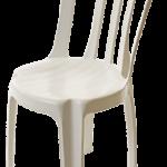 Alugar cadeira plastica branca