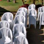 Cadeiras com braço-para locação
