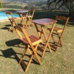 Conjunto Mesa e Cadeira Bistro