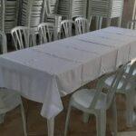 Mesa pranchão para locação
