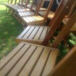 locação de cadeiras de madeira