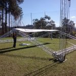montagem de tenda para eventos