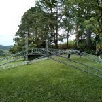 Montagem da estrutura para Festas