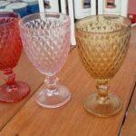 Aluguel de copos coloridos