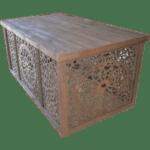 mesa para decoração hela